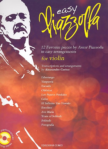Easy Piazzolla (+CD): for violin