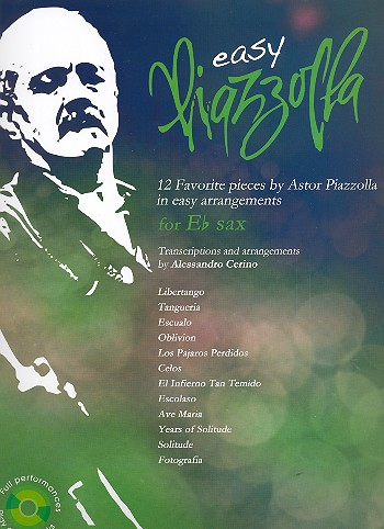 Easy Piazzolla (+CD): for alto saxophone