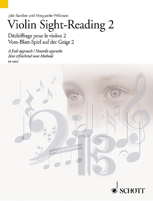 Violin Sight-Reading vol.2 (en/frz/dt) Vom-Blatt-Spiel auf der Violine