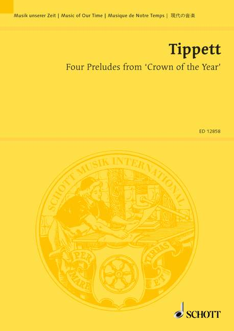 4 Preludes from Crown of the Year: für Ensemble