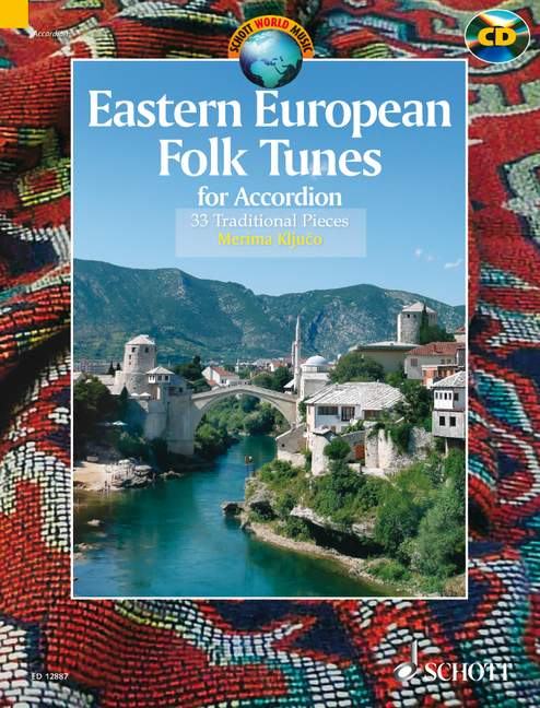 Eastern European Folk Tunes (+CD): for accordion