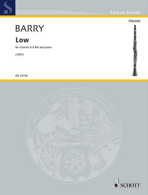 ED13746 Barry, Low: für Klarinette und Klavier