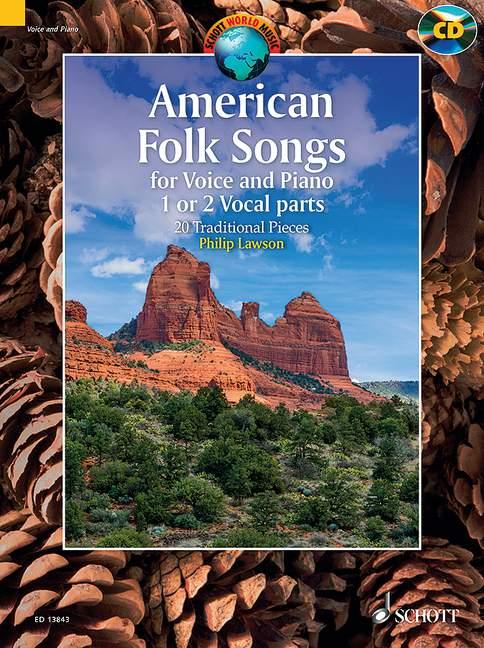 American Folk Songs (+CD): für 1-2 Stimmen und Klavier