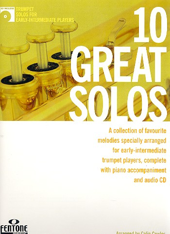 10 great Solos (+CD) for trumpet and piano