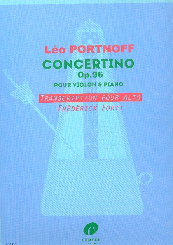 Concertino op.96 : - Vollanzeige.