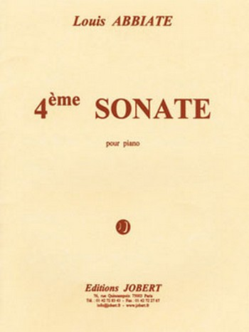 ABBIATE Louis: Sonate nø4 piano