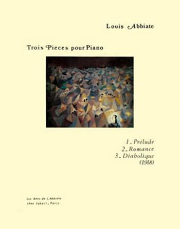 ABBIATE Louis: Pièces (3) piano