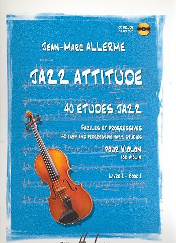 Jazz Attitude vol.1 (+CD): for violin