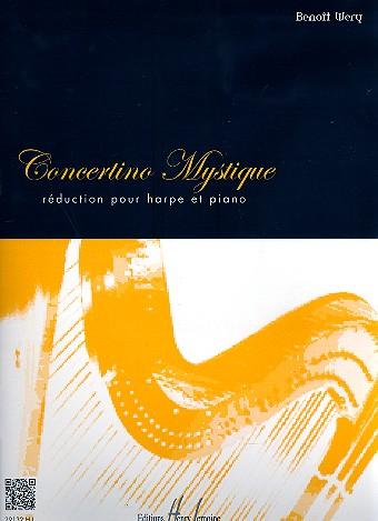 Concertino mystique pour harpe et orchestre à cordes: pour harpe et piano