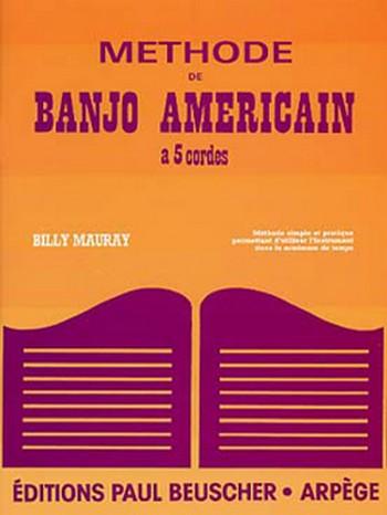 Méthode de banjo américain à 5 cordes (frz)