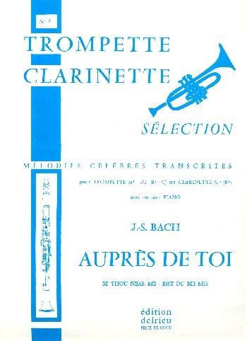 Auprès de toi: pour trompette et piano