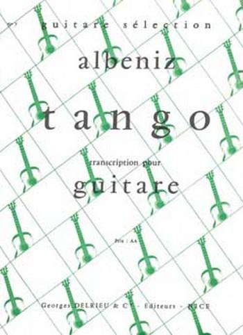 ALBENIZ Isaac: Tango guitare