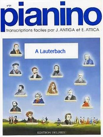 A Lauterbach - Pianino 104 piano