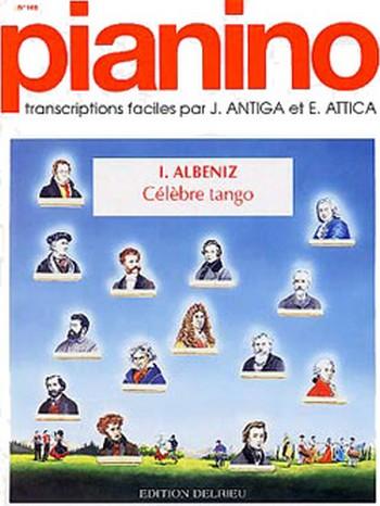 ALBENIZ Isaac: Tango - Pianino 148 piano