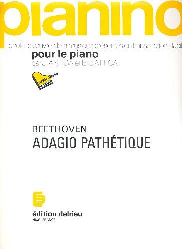 Adagio cantabile de la sonate opus.13: pour piano (facile)