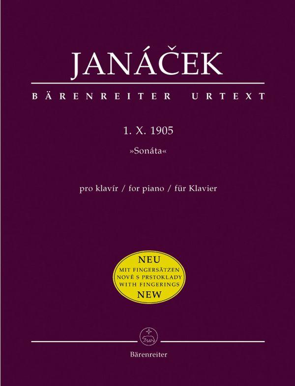 1.10.1905 - Sonata: für Klavier