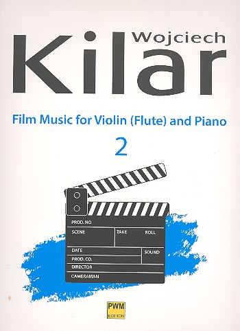 Film Music vol.2: for violin (flute) and piano