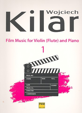 Film Music vol.1: for violin (flute) and piano