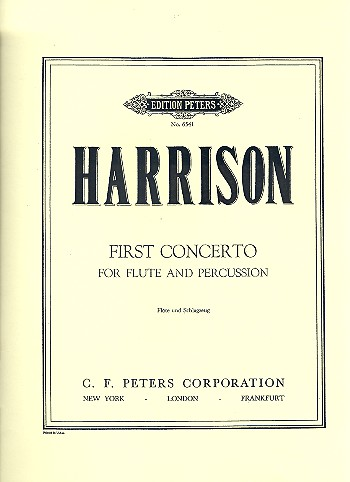 Concerto no.1: for flute and percussion (2 players)