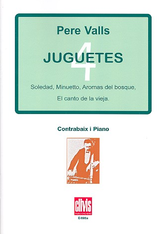 4 juguetes: for double bass and piano