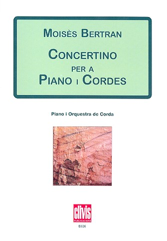 Concertino: for piano and string orchestra score
