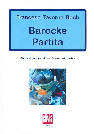 Barocke Partita: for piano and chamber orchestra