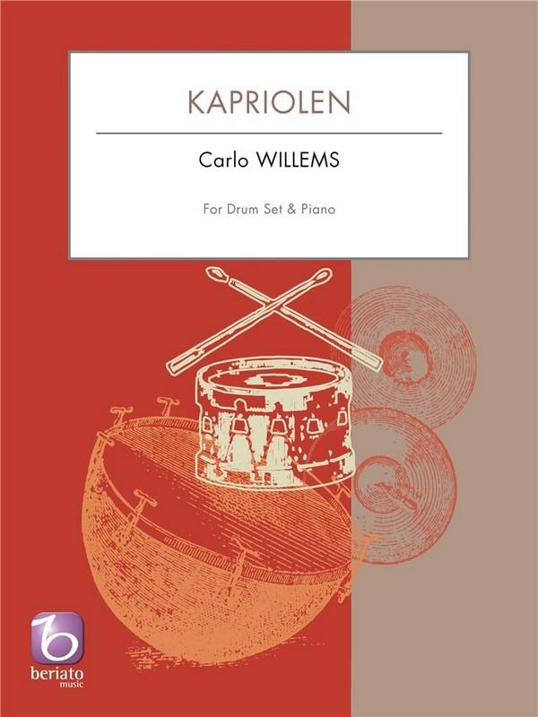 Kapriolen: für Schlagzeug und Klavier
