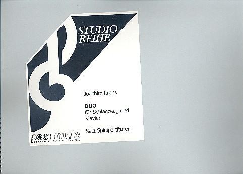 Duo: für Schlagzeug und Klavier