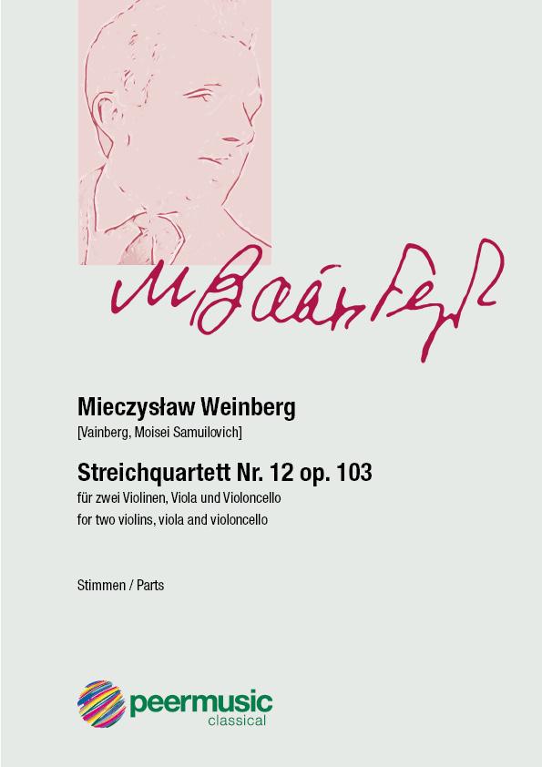Streichquartett Nr. 12 op.103 : - Vollanzeige.