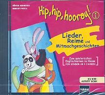 Hip Hip Hooray 1: CD mit Mini-Activity Book