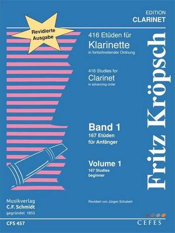 167 Etüden für Anfänger: für Klarinette