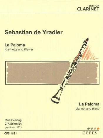 La Paloma: für Klarinette und Klavier