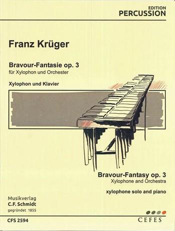 Bravour-Fantasie op.3: für Xylophon und Klavier