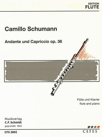 Andante und Capriccio op.36 : - Vollanzeige.
