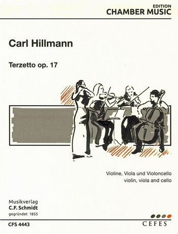Terzetto opus.17: für Violine, Viola und Violoncello