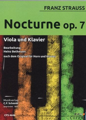Nocturne Nr.7: für Viola und Klavier