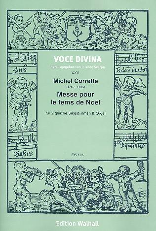 Corrette, Michel - Messe pour le tems de Noel :