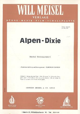 Alpen-Dixie: Potpourri für Klavier