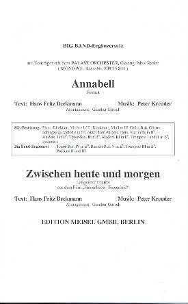 Annabell und Zwischen heute und morgen: Big-Band-Ergänzer