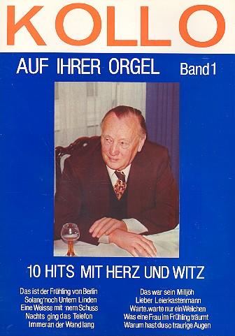 Kollo auf ihrer Orgel: für E-Orgel