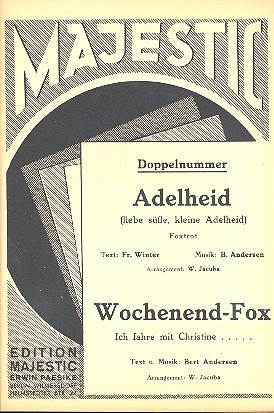 Adelheid und Wochenend-Fox: für Combo