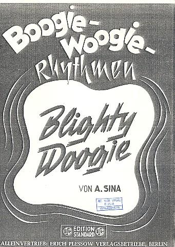 Blighty Woogie: für Klavier
