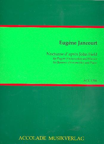 Jancourt, Louis-Marie-Eugène - Nocturne d'après John Field op.124 :