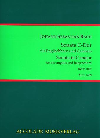 Bach, Johann Sebastian - Sonate C-Dur BWV1027 : für Englischhorn