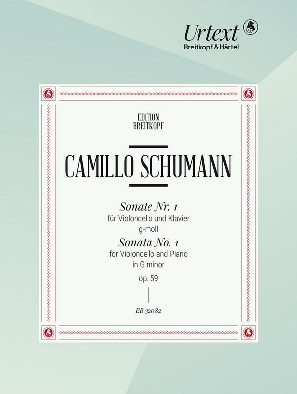 Schumann, Camillo - Sonate g-Moll op.59 :