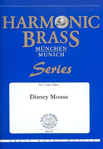 Disney Mouse: für 2 Trompeten, Horn, Posaune und Tuba
