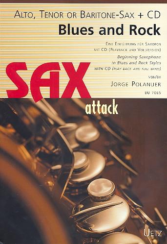 Blues und Rock (+CD): für Saxophon