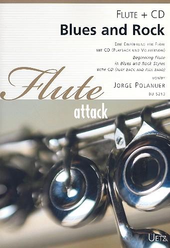 Blues und Rock (+CD): für Flöte