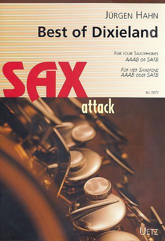 Best of Dixieland: für 4 Saxophone (AAABar/SATBar)
