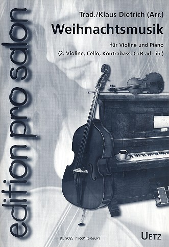 - Weihnachtsmusik : für Violine und Klavier